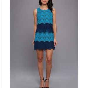 Jessica Simpson Lace Sleeveless Sheath Dress